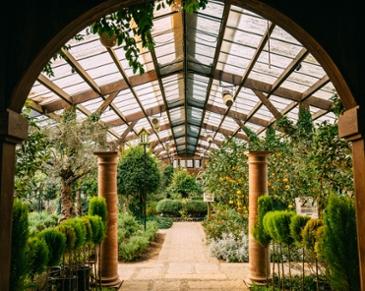 비밀의 정원에서 만나,     허브빌리지