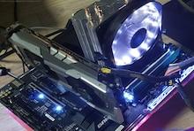 크다! 차갑다! 조용하다! 잘만 CNPS9X OPTIMA WHITE LED 리뷰!