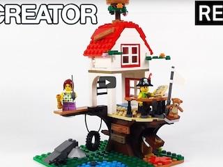 레고 크리에이터 31078 나무 위 집과 보물상자(Creator 3in1 Treehouse Treasures)