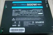 잘만 EcoMax 500W 83+ 파워서플라이