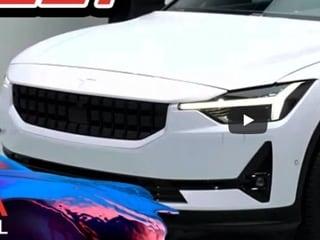 폴스타2 공개...테슬라 모델3를 저격하기 위한 볼보의 야심작[2019 제네바모터쇼]