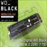 2세대 WD Black 시리즈로 돌아온 WD Black SN750 M.2 2280 (1TB)