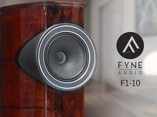 브리티시 사운드의 진검승부 Fyne Audio F1-10