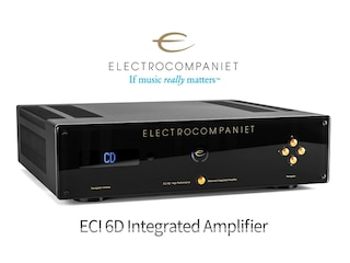 Electrocompaniet ECI 6D Integrated Amplifier  DAC 탑재, ECI 6D의 숨겨진 진가