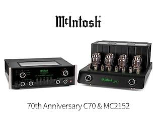 매킨토시가 던지는 묵직한 화두 McIntosh 70th Anniversary C70 & MC2152
