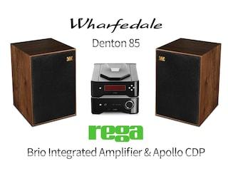 하이볼의 미덕을 제대로 살렸다.  Wharfedale Denton 85 & Rega Research Brio Integrated Amplifier & Apollo CDP