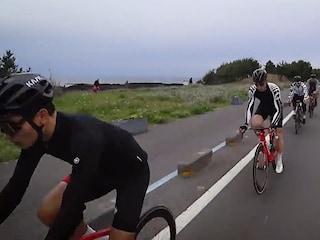 트렉화신팀 에이스 3명과 자전거 제주도 한바퀴 당일치기
