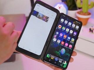 폴더블? 폰더블! LG V50 씽큐 첫인상