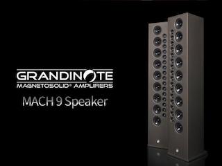25개 유닛 + 크로스오버 프리 설계가 빚어낸 기분 좋은 음 - Grandinote MACH 9 Speaker