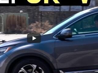 전 트림 기본 탑재! 혼다 CR-V 센싱 테스트…정말 스스로 멈춘다고?