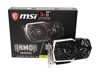 MSI GeForce GTX 1660 아머 OC D5 6GB 리뷰