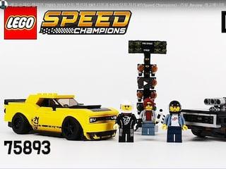 레고 스피드 챔피언 75893 2018 닷지 챌린저 SRT 디몬과 1970 닷지 차저 RT(Speed Champions)  리뷰