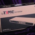 16포트 기가비트, IGMP 를 지원하는 스위치 허브 아이피타임 SG16000M