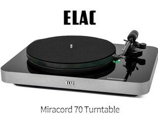 [리뷰] 엘락, 아날로그의 르네상스를 꿈꾸다  Elac Miracord 70 Turntable