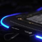 밋밋한 장패드에 빛의 날개를 RGB LED가 적용된 장패드, 웨이코스 씽크웨이 CROAD X802 RGB 휙패드