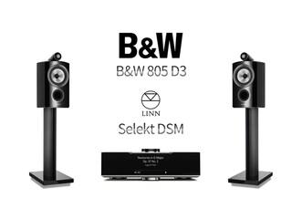 [리뷰] 고수 둘이 만나 빚어낸 납득이 가는 음 Linn Selekt DSM + B&W 805 D3