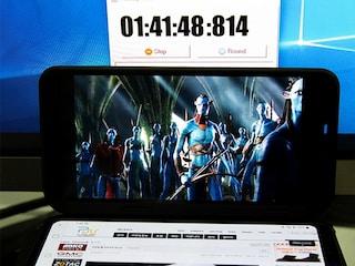 LG V50 ThinQ (LM-V500N) 배터리 테스트 리뷰