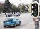 아우디, 신호등 정보 알려주는 시스템 독일에 도입