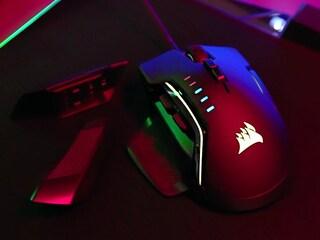 그립감 개쩌는 고오급 게이밍 마우스 커세어 GLAIVE RGB PRO 리뷰!!