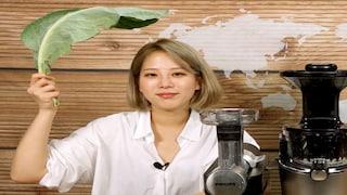 세상에서 가장 녹색인 액체를 만들었음! feat. 필립스&휴롬 [도사마의 밥상]