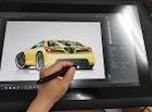 디지털 시대, 자동차 디자이너의 스케치와 렌더링