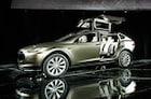 [TV 데일리카] 스스로 알아서 차선 변경하는 전기 SUV..테슬라 '모델X'