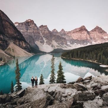 캐나다 로키,  대자연의 놀이터