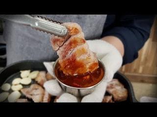삼겹살 3배 맛있게 먹는방법. 맛상무 Mukbang