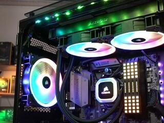 커세어 깔맞춤 조립PC 가이드 1부, RGB 설정 가이드!!