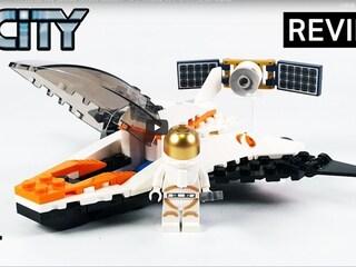 레고 시티 60224 위성 서비스 미션(LEGO City Satellite Service Mission) - 리뷰