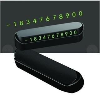 잉글리쉬맨 주차 전화번호 표시판