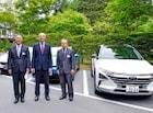 현대차, 수소전기차 넥쏘, 일본 최초 전시 및 주행