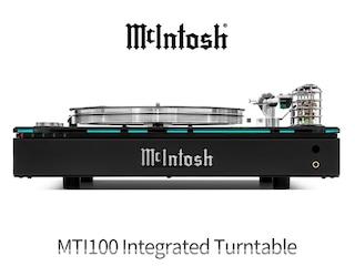 [리뷰] 매킨토시가 작정하고 만든 올인원 턴테이블 McIntosh MTI100 Integrated Turntable