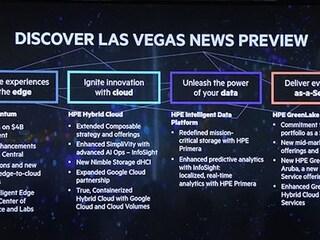 한국 HPE 'Discover 2019 Las Vegas' 하이라이트 기자간담회