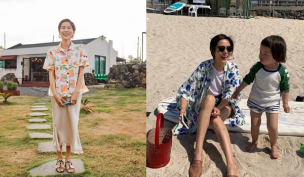 김나영 인스타 속 패션 스타일링