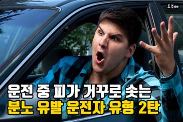 운전 중 피가 거꾸로 솟는 분노 유발 운전자 유형 2탄