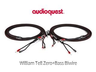 [리뷰]이 정도 되면 바이와이어링은 필수다 AudioQuest William Tell Zero+Bass Biwire Speaker Cable