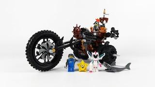 [레고 70834] 메탈비어드의 헤비메탈 모터 트라이크(MetalBeard's Heavy Metal Motor Trike)