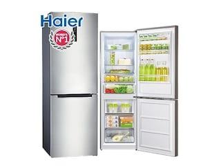슬림한데, 알차다! 하이얼 HRB350MNM 냉장고