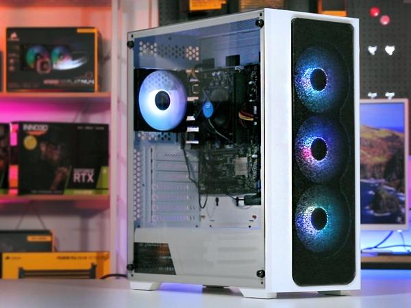 쿨링 옵션이 엄청 다양해! BRAVOTEC SWORD S830 RGB 타이탄 글래스 화이트 케이스 리뷰!!