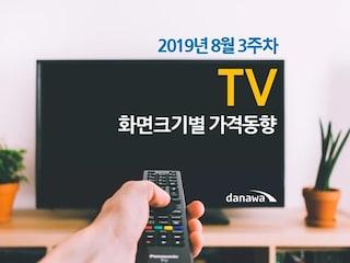 요즘 대세  '대형 TV',  올해 초보다 지금이 저렴한 편이다 [주간 가격동향]