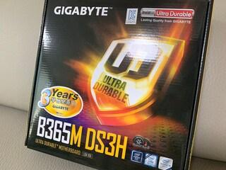 기가바이트 인기 상품인 B365M DS3H 듀러블에디션 가성비 메인보드로 ...