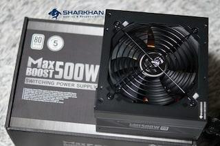 성린 샤칸 CHENGLIN SHARKHAN MAXBOOST 500W 80PLUS STANDARD 230V EU