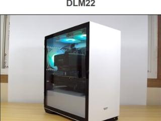 darkFlash DLM22 RGB 강화유리 화이트