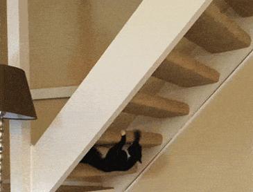 계단을 이용하는 방법