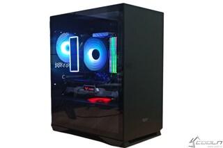 가성비 최고의 미니타워 PC케이스~ DarkFlash DLM22 RGB 강화유리 블랙