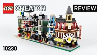 레고 크리에이터 10230 미니 모듈러(LEGO Creator Mini Modulars)  리뷰_Review_레고매니아_LEGO Mania