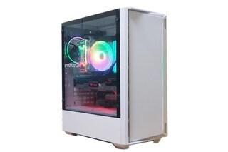 순백색의 깔끔한 PC케이스! 마이크로닉스 Master Z2 강화유리 White
