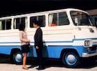 1969년에 나온 최초의 순정품 밴 '신진 미니버스'