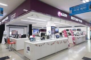 용산 전자랜드 LG 시네빔 시연실 방문기